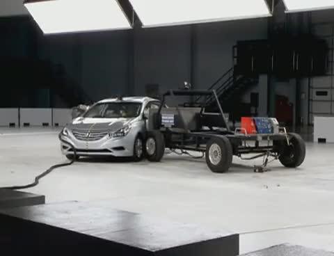 Watch and share 2011 Hyundai Sonata Side IIHS Crash Test GIFs on Gfycat