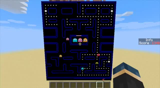 Watch [::] Pacman with real ghost AI (reddit) GIF by @magib1 on Gfycat. Discover more Minecraft, minecraft GIFs on Gfycat