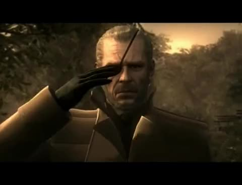 Metal Gear Solid, Salute GIFs
