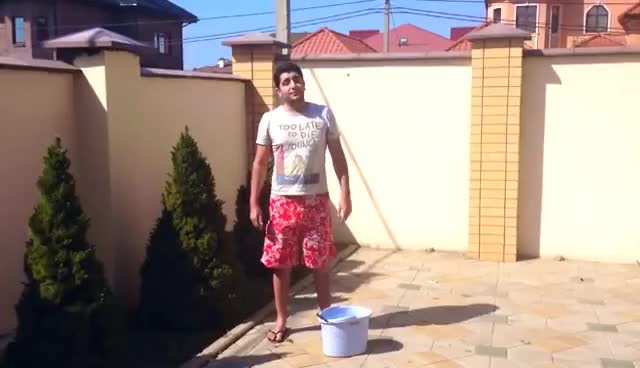 Watch Vache Tovmasyan - ALS #IceBucketChallenge GIF on Gfycat. Discover more related GIFs on Gfycat
