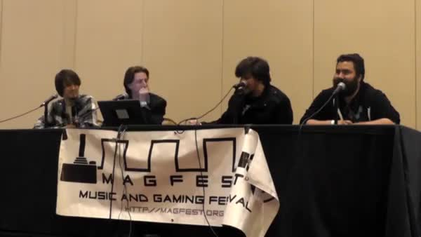 MAGFest Laughing