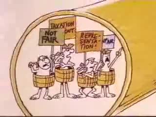 Tea Party - Schoolhouse Rock Flo party jimkaiser1 Tea Education GIF