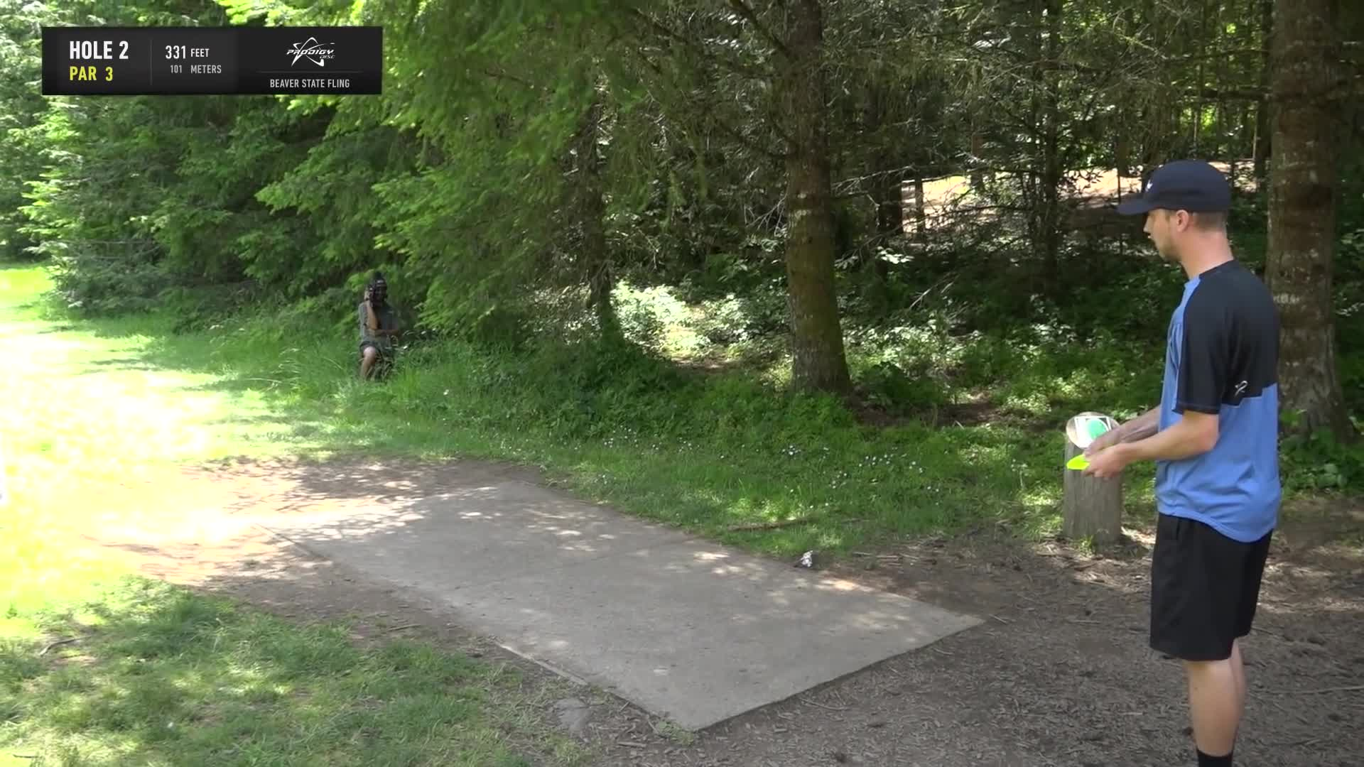 ace, bsf, dela, delaveaga, dgpt, dgwt, disc, disc golf, frolf, hole in one, masters cup, mcbeast, milo, nate sexton, nt, paul mcbeth, pdga, simon lizotte, tournament, worlds, 2019 Beaver State Fling - Final Round, Part 1- Seppo Paju hole 2 drive GIFs