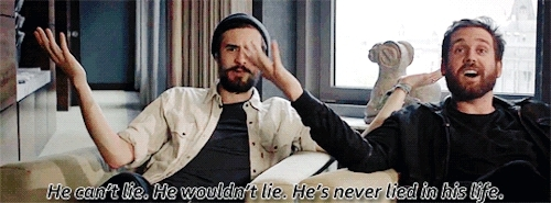 *, bastille, gif, i have no idea what the context behind this even is, i have no idea what video this even is i just found this on my folders, kyle simmons, will farquarson, snakes GIFs