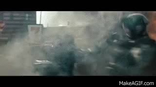 Watch and share Faora Ul Vs Soldiers Man Of Steel GIFs on Gfycat