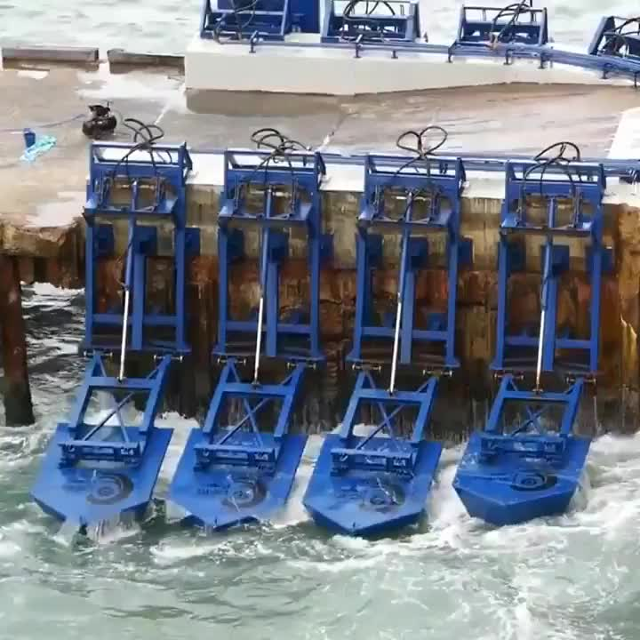 futurology, green energy, r/sciences, These floats turn ocean wave power into electricity GIFs