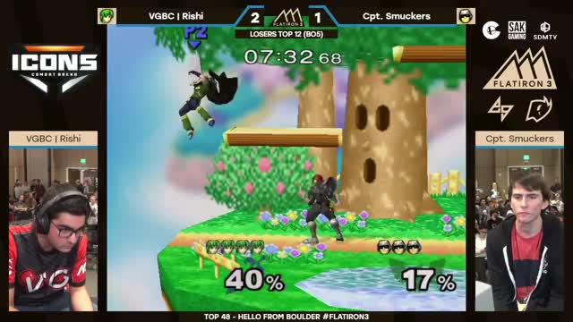 Watch Flatiron 3: Losers Top 12 - VGBC | Rishi vs. Captain Smuckers GIF on Gfycat. Discover more EGTV, Nintendo, Smash, Splatoon, smashgifs, ssmb GIFs on Gfycat