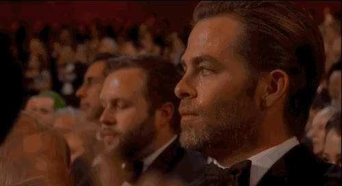 Watch this applause GIF by Reaction GIFs (@sypher0115) on Gfycat. Discover more Chris Pine, applause, clap, clapping, respect, slow clap GIFs on Gfycat