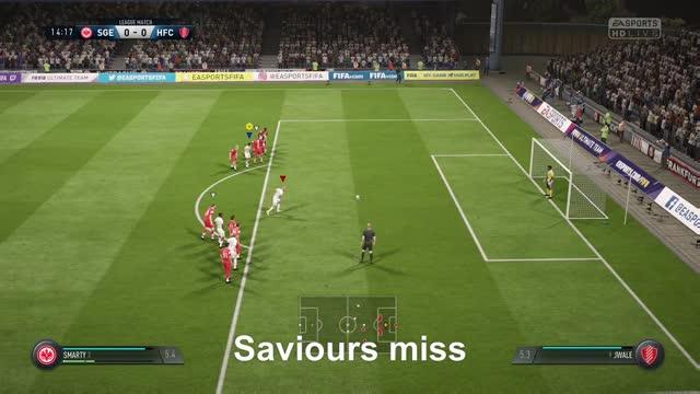 Watch Saviours miss GIF by Xbox DVR (@xboxdvr) on Gfycat. Discover more FIFA18, Smartyzz, xbox, xbox dvr, xbox one GIFs on Gfycat