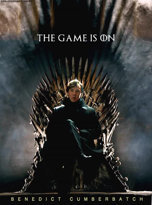 Watch and share Benedict Cumberbatch GIFs and Iron Throne GIFs on Gfycat