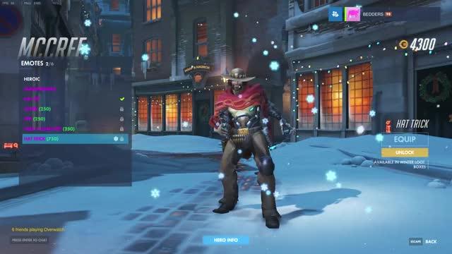 Winter Wonderland Christmas Emotes - Overwatch | Metabomb