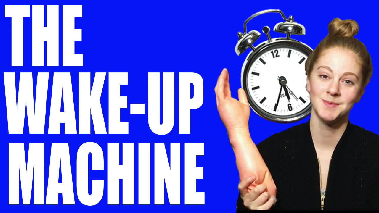 coffee, sleepy, tired, wake, wake up, Wake-up Machine FAIL GIFs