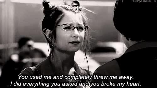 Watch and share You Broke My Heart GIFs and I Did Everything GIFs on Gfycat