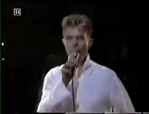 David Bowie  Go Bang festival Munich1997.