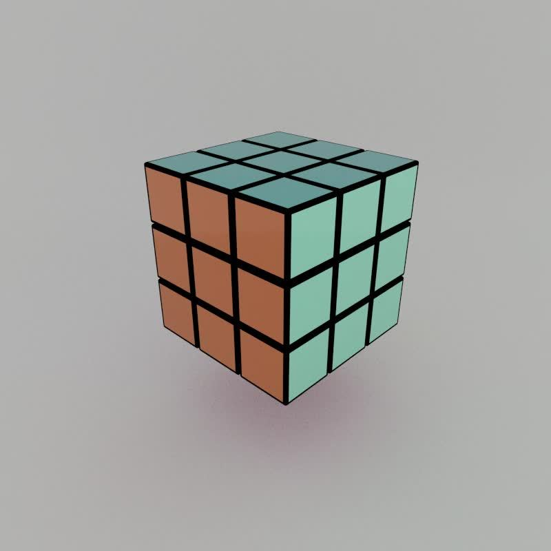 Daily3D, daily3d, Animated Rubik's Cube (reddit) GIFs