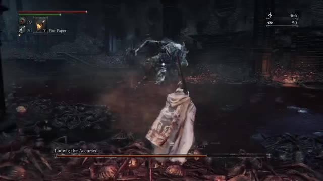 Bloodborne Ludwig Hemmed In