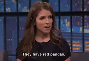 Watch and share Anna Kendrick GIFs and Red Panda GIFs on Gfycat