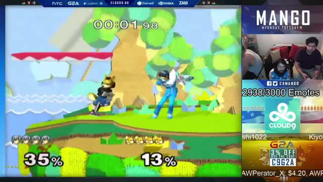Cool Marth Combo from Mang0