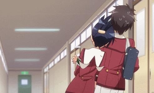 JustStemThings, animegifs, Smitten with love [Inou Battle] (reddit) GIFs