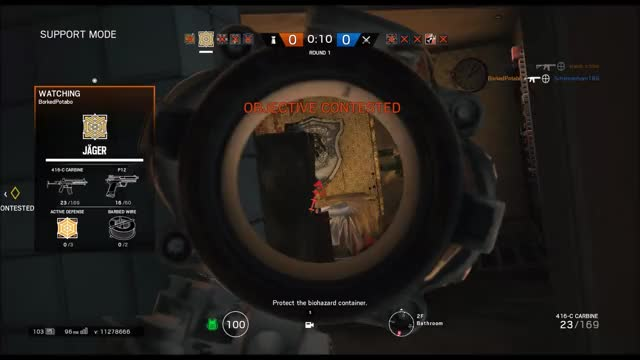 Watch and share Rainbow Six Seige GIFs and Bugs GIFs by sharky495 on Gfycat