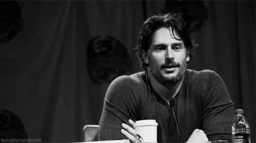 carefree, joe manganiello, meh, shrug, I dunno GIFs