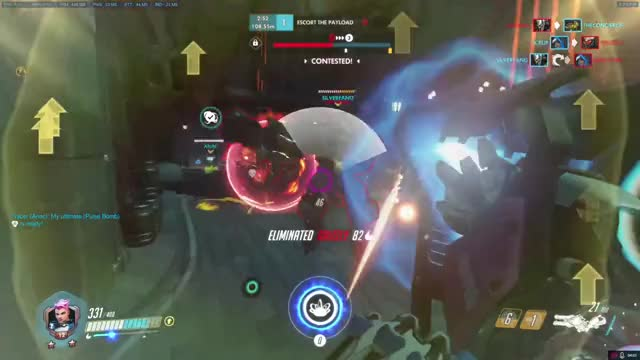 Watch Zarya PoV Fighting Mongooses - King's Row GIF by @lafonh on Gfycat. Discover more Competitiveoverwatch GIFs on Gfycat