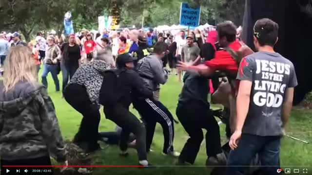Watch antifa fight 2 GIF on Gfycat. Discover more related GIFs on Gfycat
