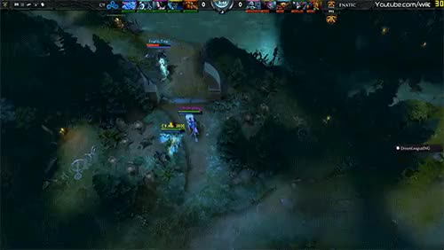 As requested, gif of Singsing getting first blood kill on n0tail with arrow (reddit)