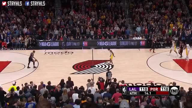Watch and share Los Angeles Lakers GIFs and Lakers Vs Blazers GIFs on Gfycat
