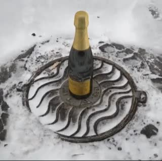 Watch and share Champagne GIFs and Snow GIFs on Gfycat