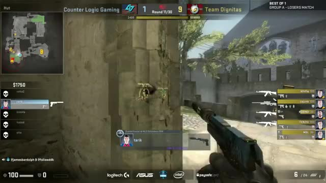 LIVE: Team Dignitas vs CLG - ESL One Cologne 2016 - Group A Elimination Match