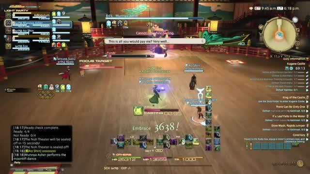 Final Fantasy XIV: Stormblood - FFX Yojimbo BOSS Fight!! GIF   Find