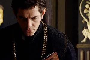 Watch and share Thomas Cromwell GIFs and James Frain GIFs on Gfycat