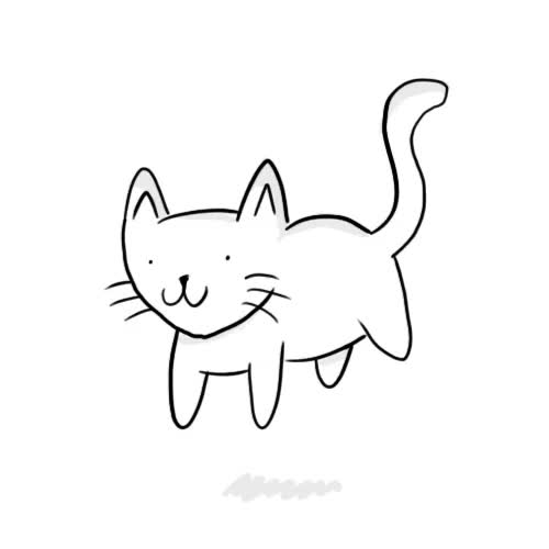 Watch cartoon kitten GIF on Gfycat. Discover more related GIFs on Gfycat