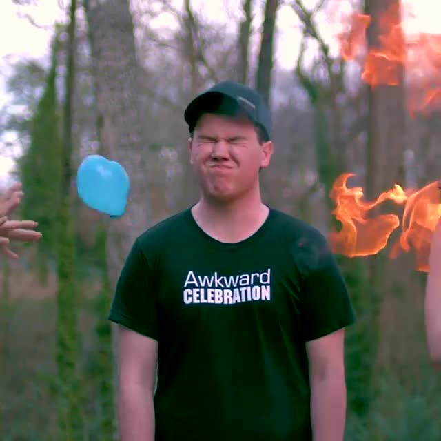 face slap, fire slap, smackcam, water balloon, water balloon fire slap GIFs