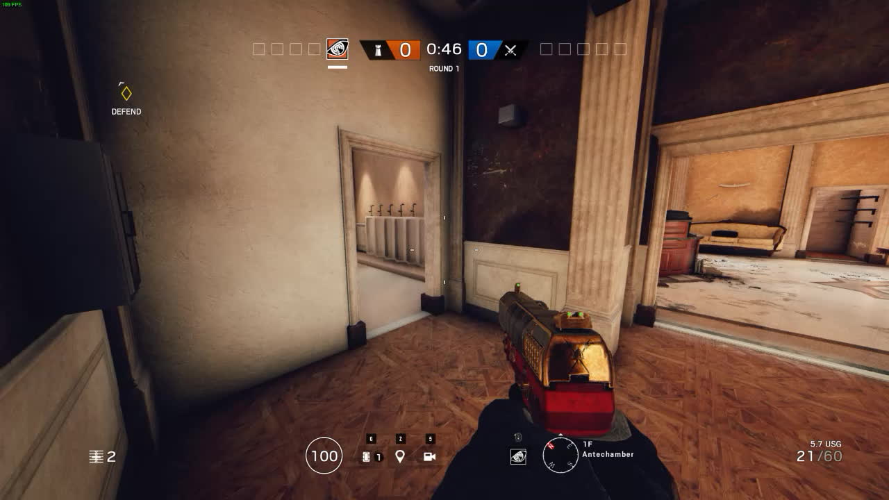 RainbowSixSiege, Bathroom Glitch on Consulate GIFs