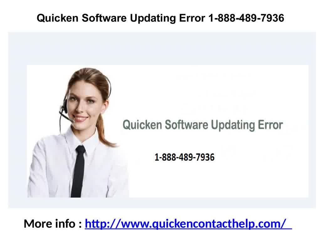 Quicken Software Updating Error 1-888-489-7936 GIF by Quickencontact