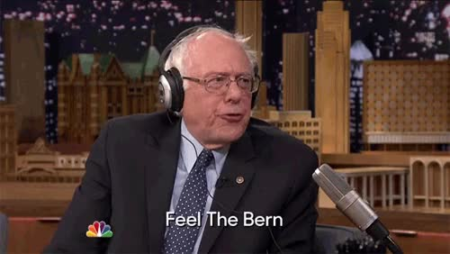 Watch and share Bernie Sanders GIFs and Jimmyfallon GIFs by Reactions on Gfycat