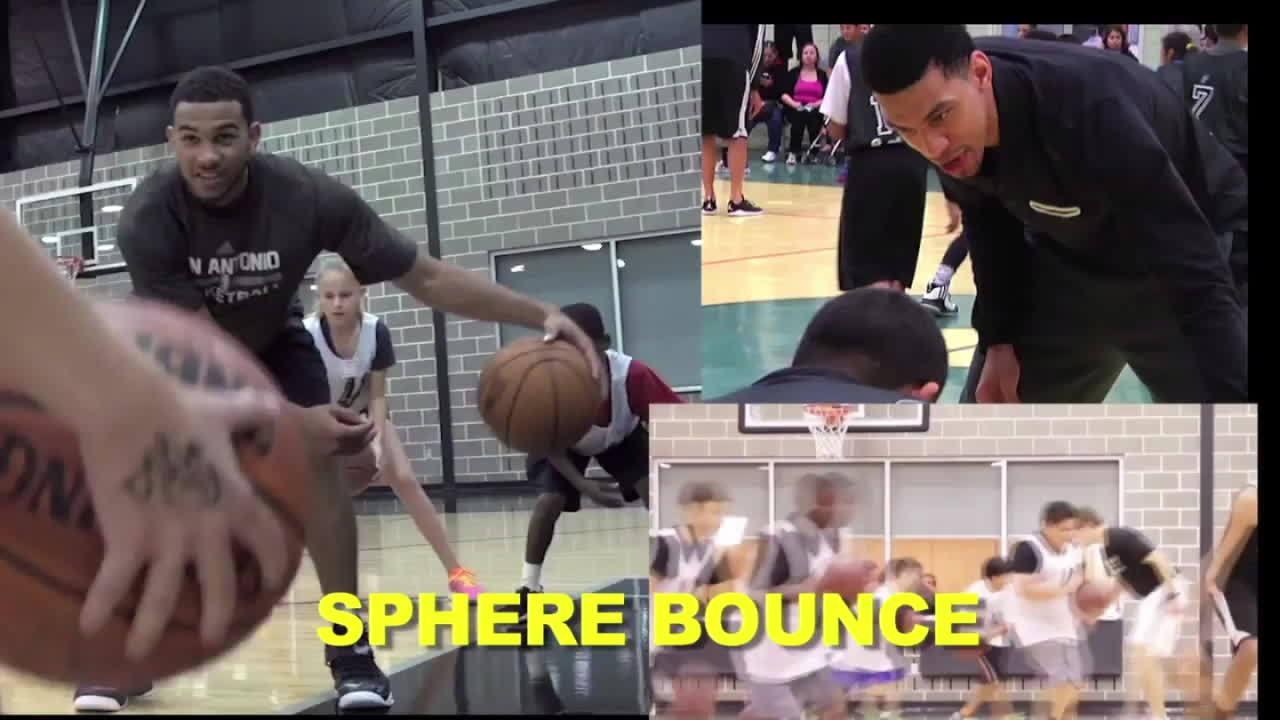 nbaspurs, Sphere bounce GIFs