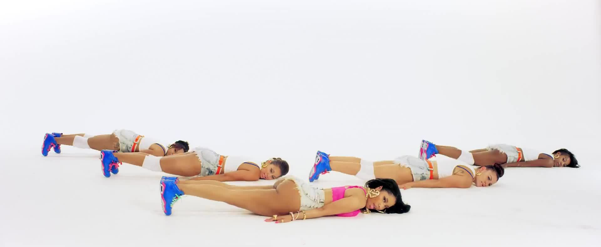 boobs, music, music video, nicki minaj, nicki_minaj, twerk, Anaconda (reddit) GIFs