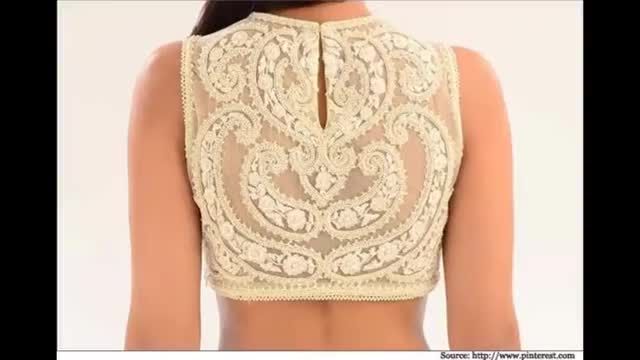 Watch and share Designer Saree Blouses GIFs on Gfycat