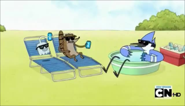 Regular Show-Chill-Chill-Chill-Chilling GIFs
