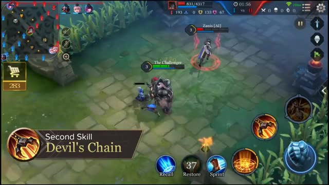 Watch and share Grakk - Hero Spotlight Garena AOV (Arena Of Valor) GIFs on Gfycat