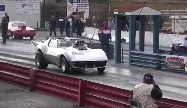 Watch and share Corvette GIFs and Dragster GIFs on Gfycat