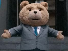 Watch and share Ted 2, Ted, Tux, Wedding GIFs on Gfycat