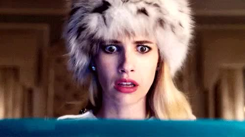 Watch this emma roberts GIF on Gfycat. Discover more chanel oberlin, emma roberts, gifs, scream, scream queens GIFs on Gfycat