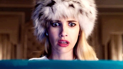 chanel oberlin, emma roberts, gifs, scream, scream queens, Scream Queens GIFs