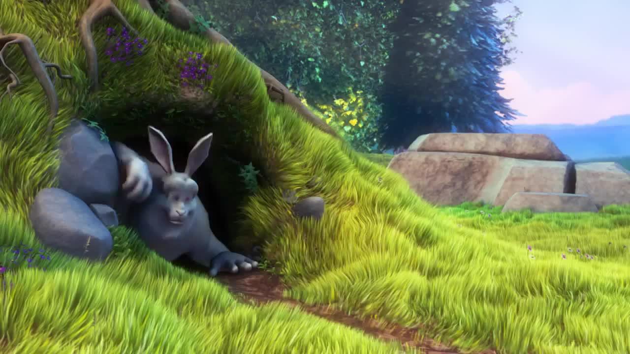 actuallyfunny, grass, Bunny GIFs