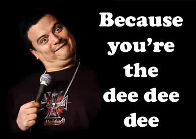 Watch and share Carlos Mencia Dee Dee Dee Photo: Carlos Mencia Funny_carlos_mencia.gif GIFs on Gfycat