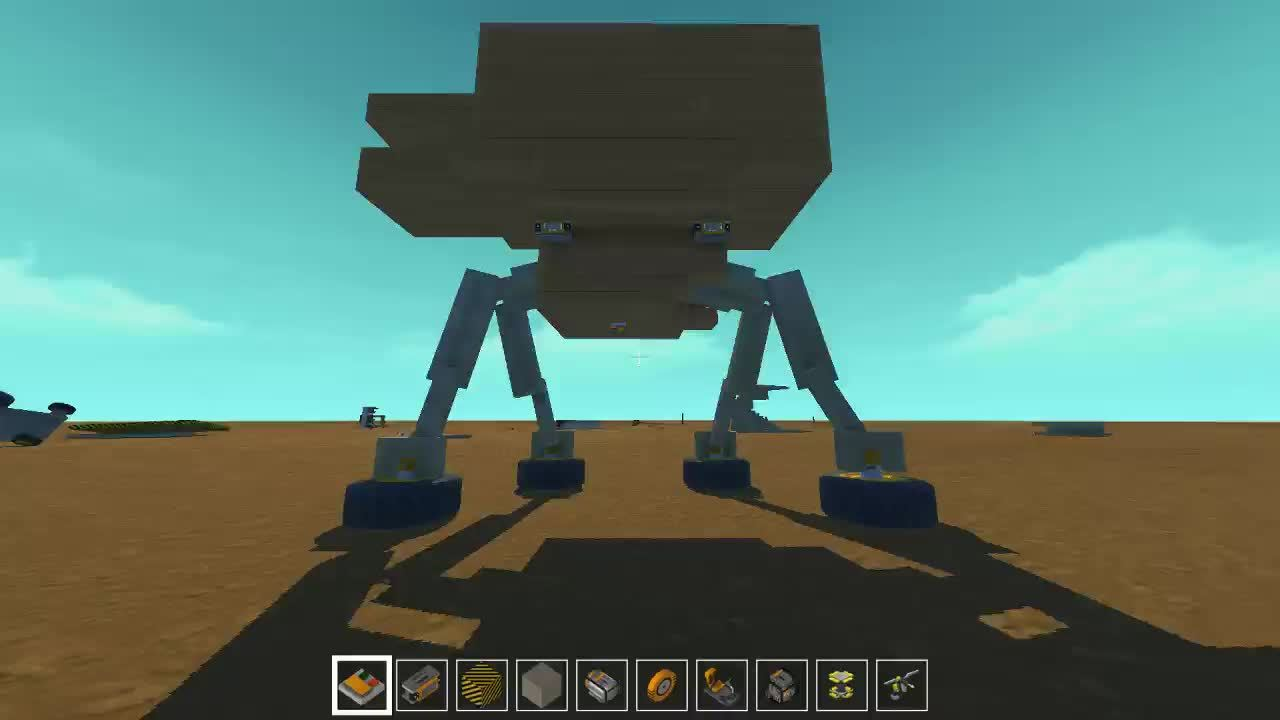 scrapmechanic, AT-AT Walker, Sorta.... GIFs